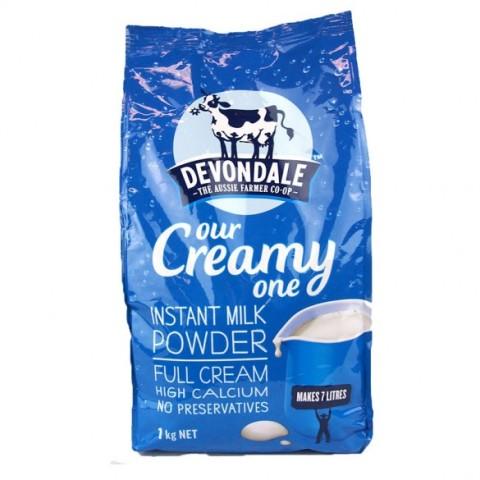 Sữa tươi Devoldale (Úc) - full cream dạng bột