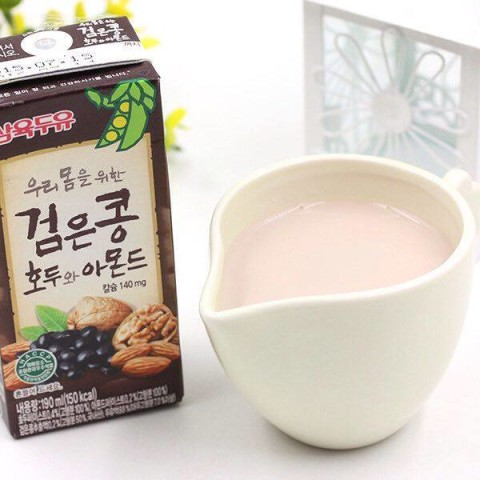 Sữa Óc chó, Hạnh Nhân, Đậu đen Hàn Quốc