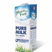 Meadow Fresh full cream milk 1l