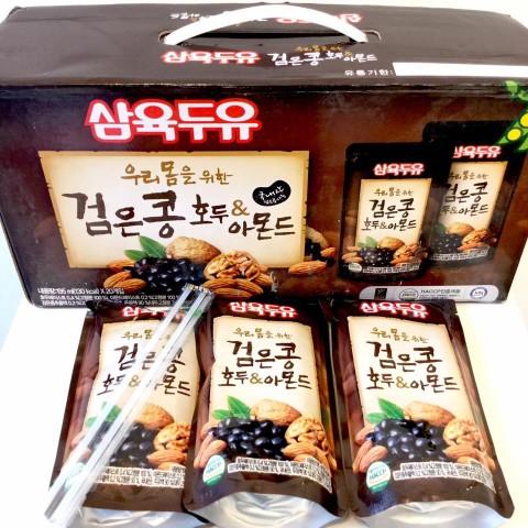 Sữa Hạnh nhân, Óc cho, Đậu đen Hàn Quốc