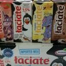 Sữa tươi Laciate mix 4 vị 200ml (thùng 12 hộp)
