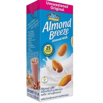 Almond Breeze milk hanh nhan khong duong 180ml